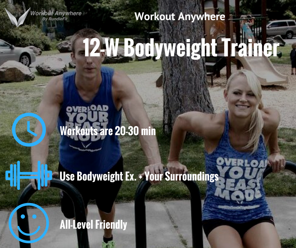 12-Week Bodyweight Training Plan - Workout Anywhere