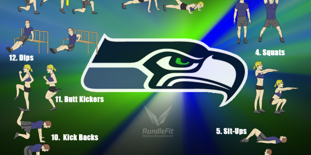 12th Man Workout - Seattle Seahawks Workout - Workout Anywhere
