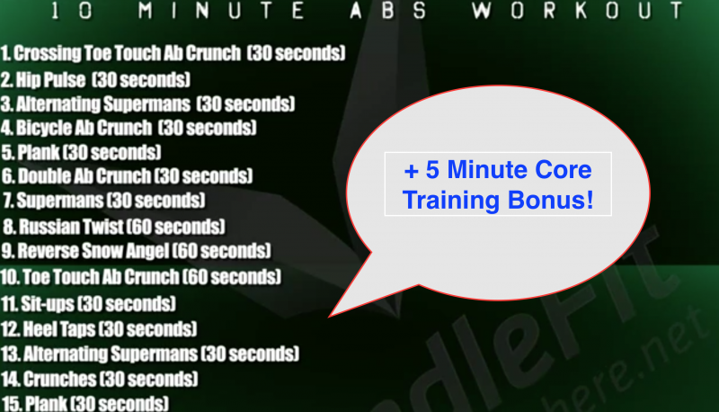 15 Minute Core Workout You Can Do Anywhere