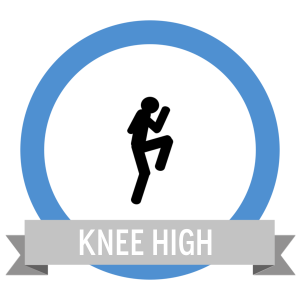 Running High Knees Fit Challenge - Workout Anywhere