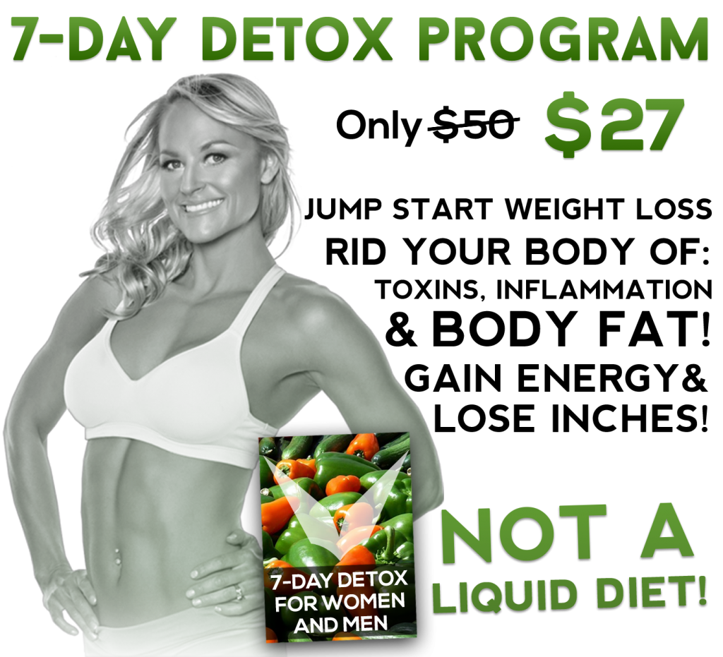 7 Day Detox Program - Weight Loss Jump Start - Workout Anywhere