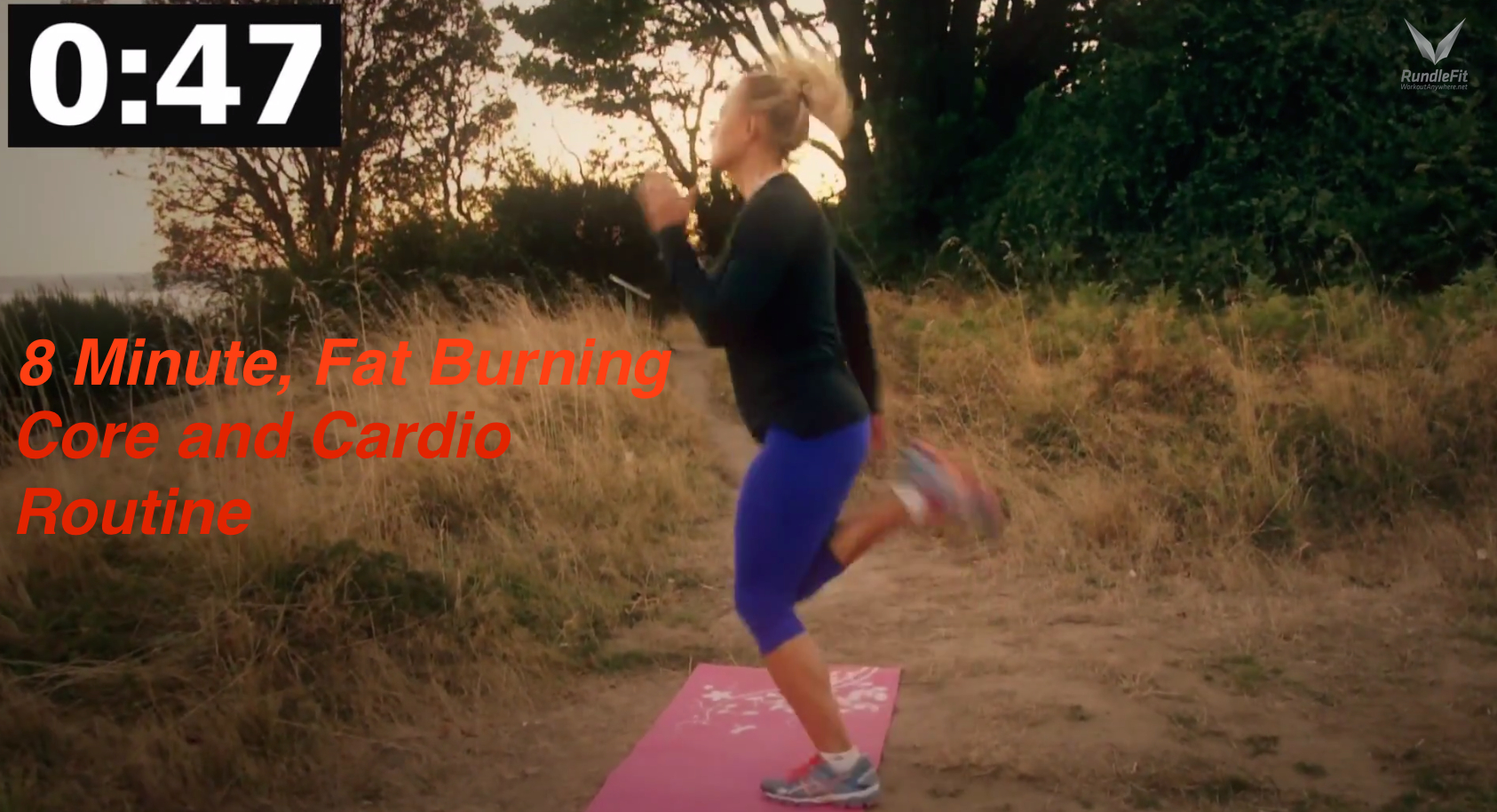 8 Minute Fat Burning Core and Cardio