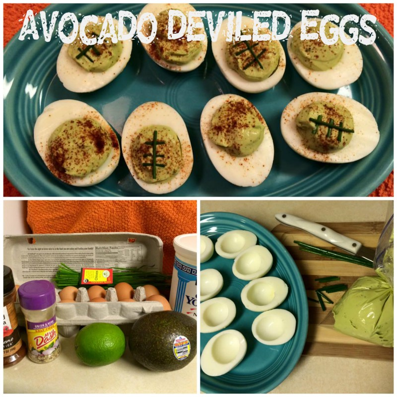 Avocado Deviled Eggs - Workout Anywhere