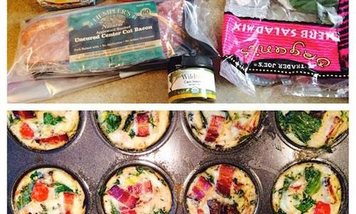 BLT Egg Muffins - Workout Anywhere