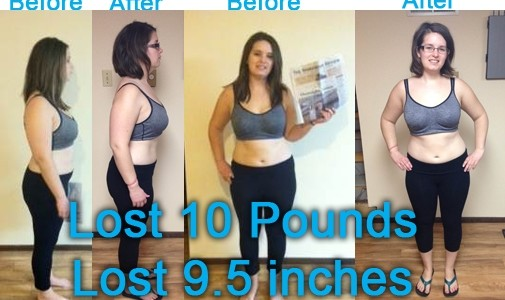Camille Troxel's Before and After With Workout Anywhere