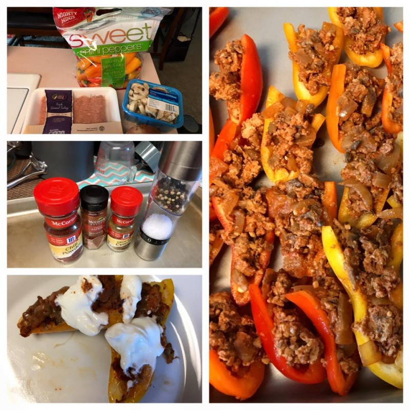Camille's Stuffed Peppers