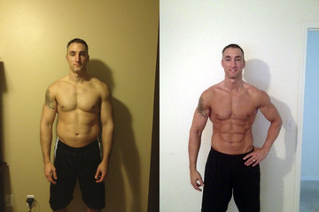 Doug Before and After - Workout Anywhere