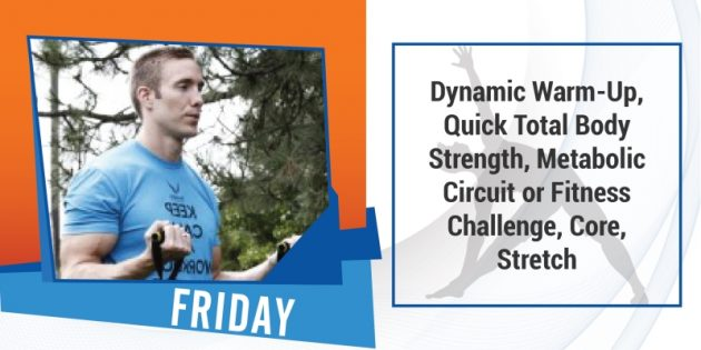 Fit Friday - Workout Anywhere of The Day