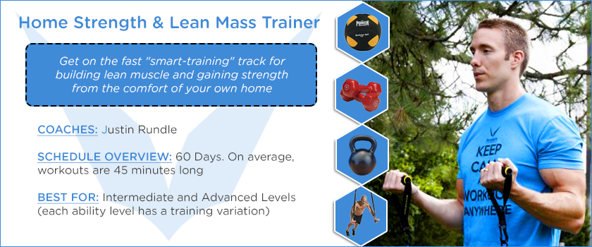 Home Strength and Lean Mass Trainer Slide