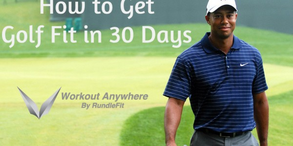 How to Get Golf Fit - Workout Anywhere