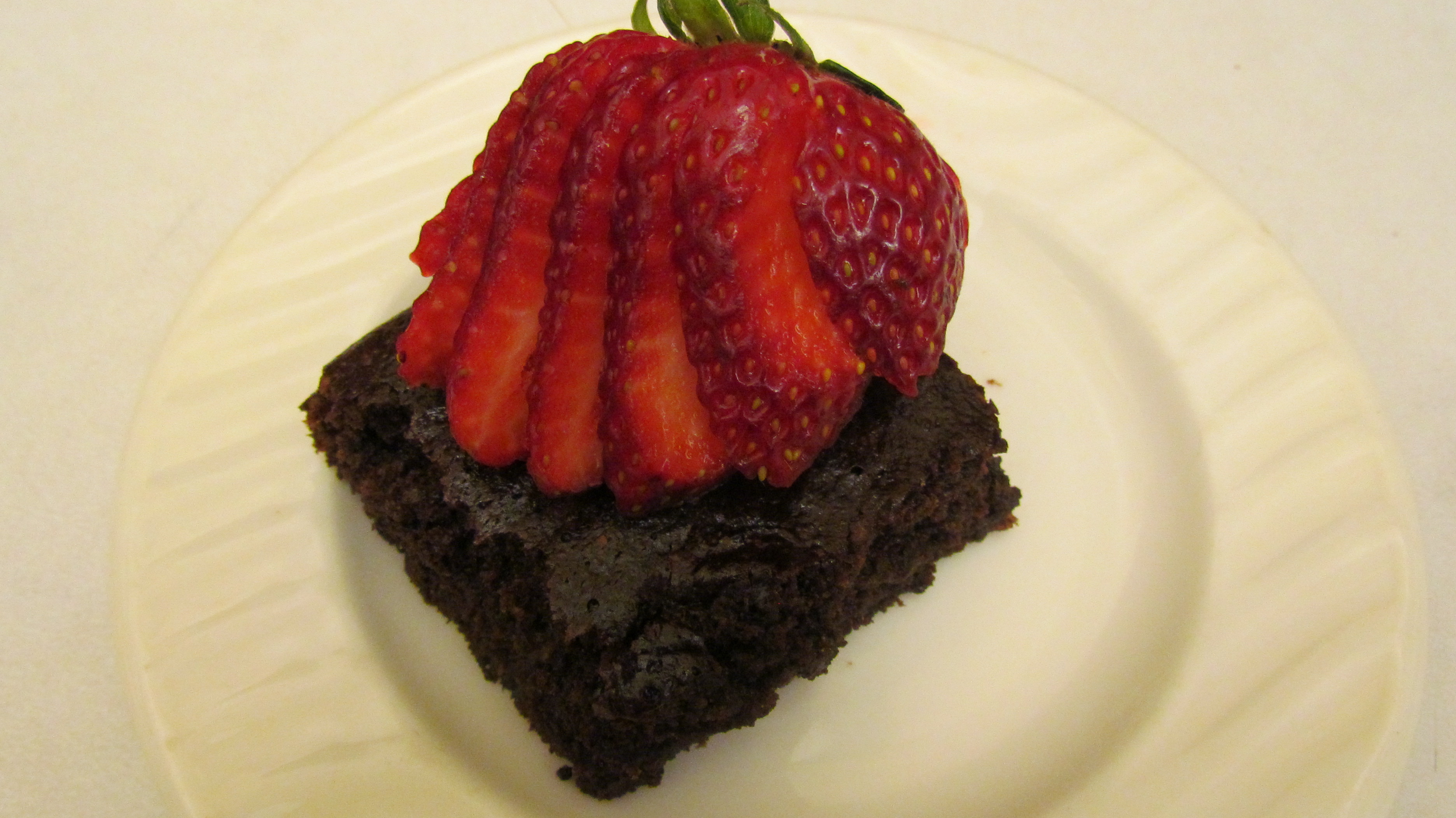 brownies: healthy