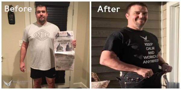 Jason's Before & After Pics