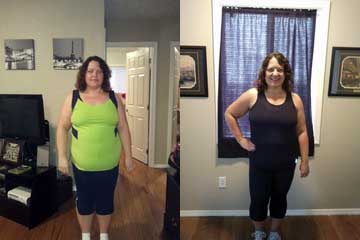 Kathy Before and After Workout Anywhere