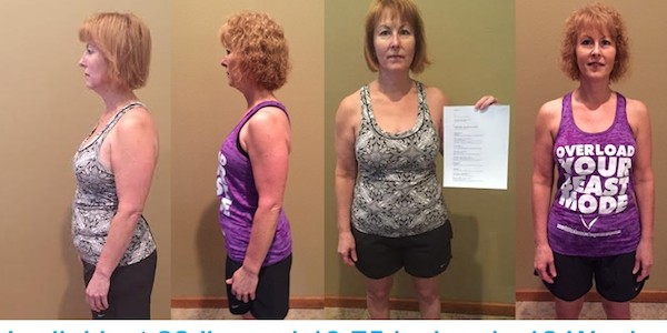 Lorilei's Before And After With Workout Anywhere