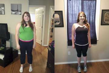 Maise Before and After - Workout Anywhere