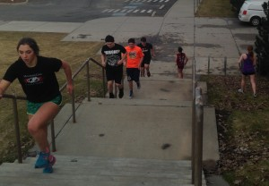 Mt. Spokane Performance Training Stairs | Workout Anywhere Basics