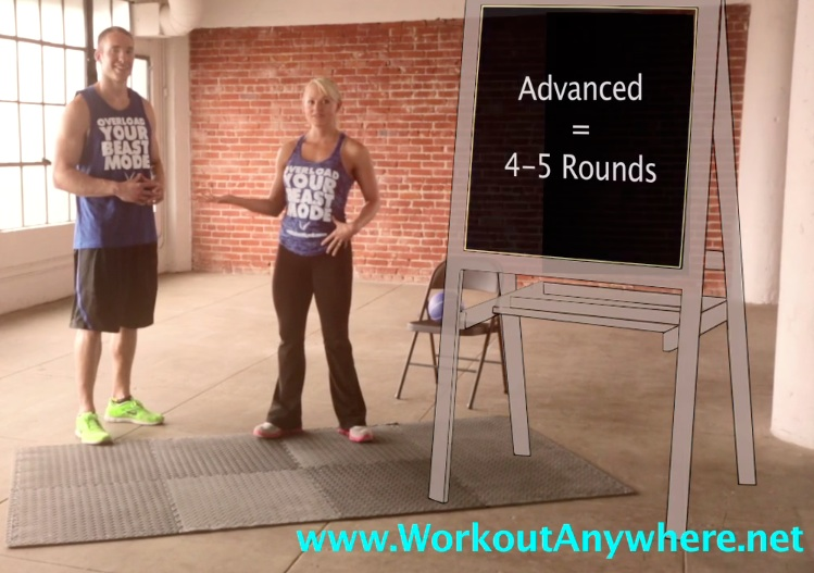 Rounds For Time Workout