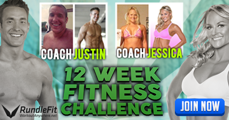12 Week Fitness Challenge For Busy People | Workout Anywhere