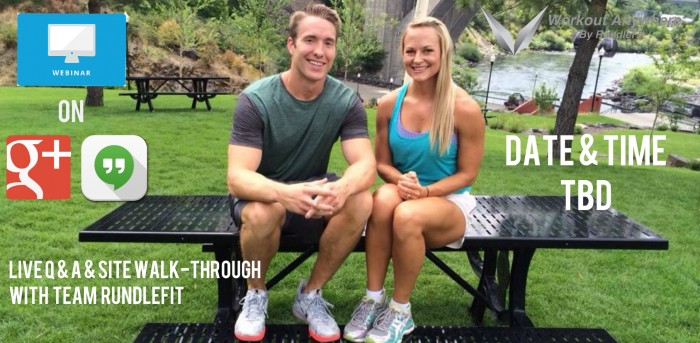Live Workout Anywhere Webinar With Team RundleFit