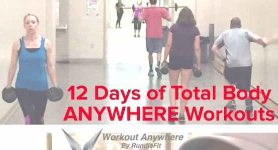 The 12 Days of At-home workouts