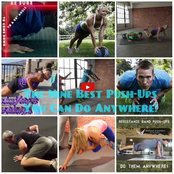 The Nine Best Push Ups You Can Do Anywhere