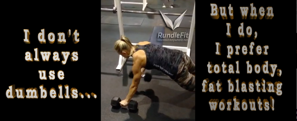 Total body, fat burning exercise