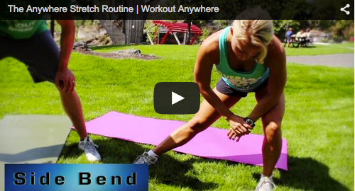 workout anywhere stretch routine