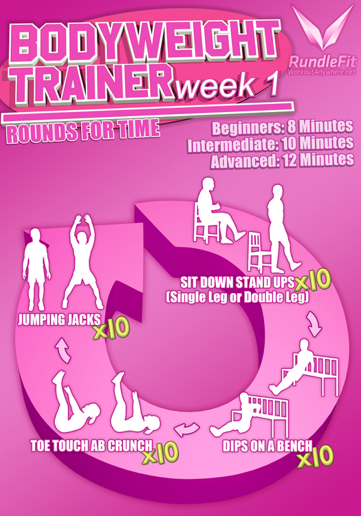 Body Weight Trainer Week One