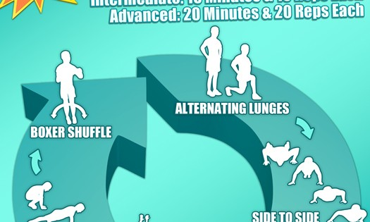 Body Weight Trainer Week 3 Infographic
