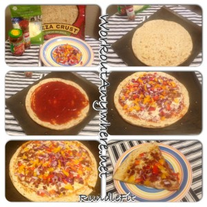 Healthier Option Pizza
