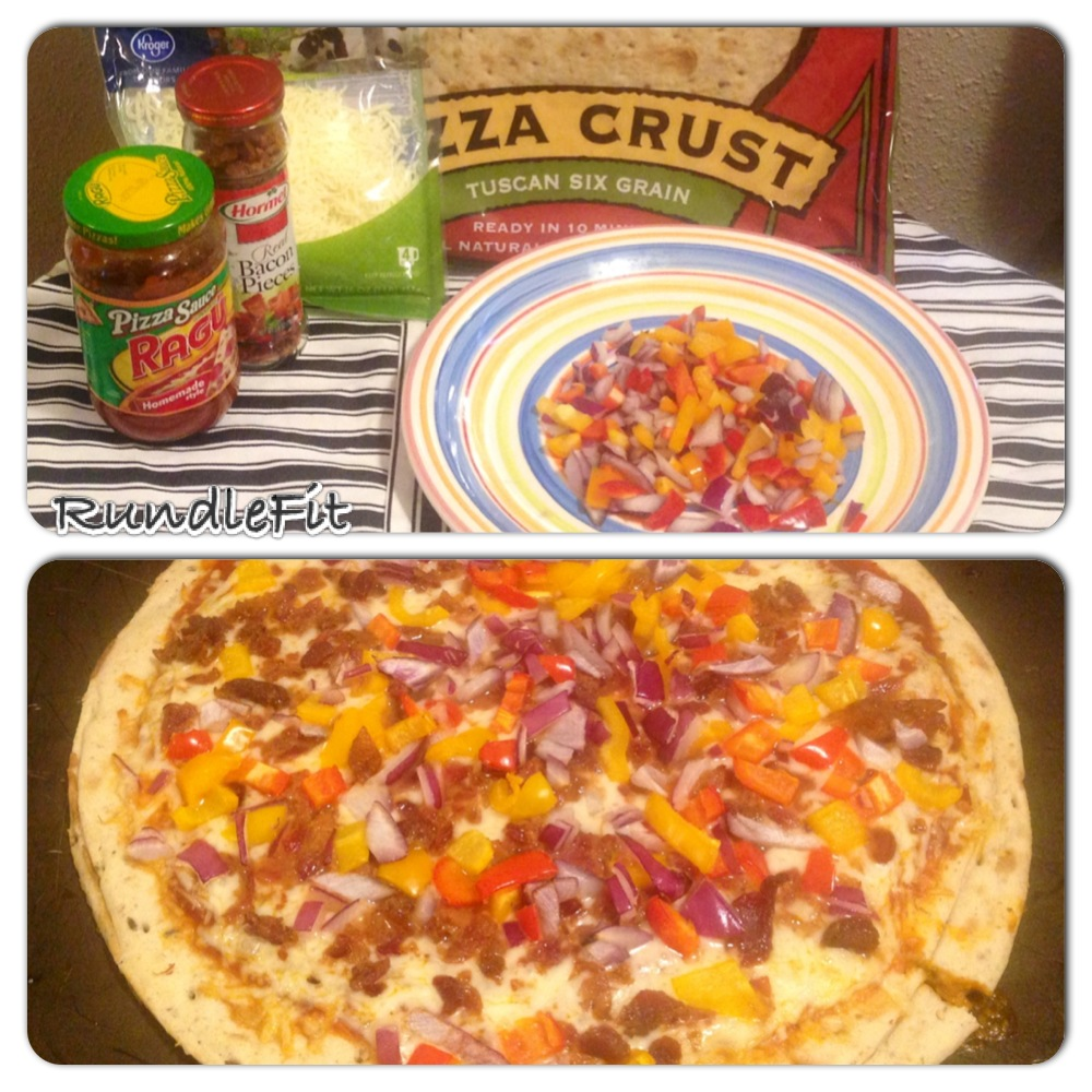 Healthy Option Pizza