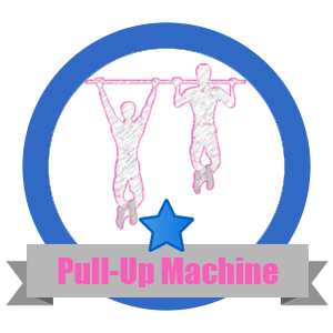 Pull Up Fit Challenge Badge - Workout Anywhere
