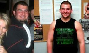Tim Before and After Workout Anywhere