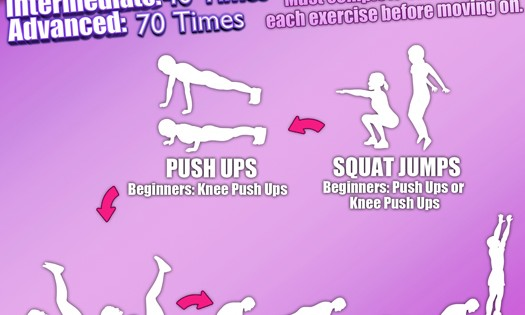 Week 12 Workout Infographic