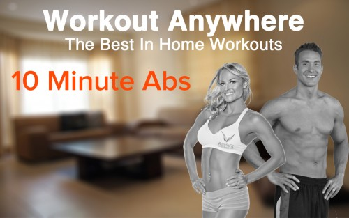 10 Minute Ab Workout You Can Do Anywhere