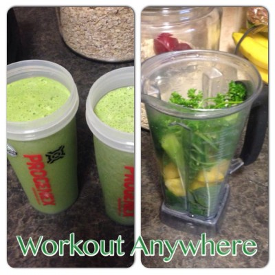 Morning Green Juice - Workout Anywhere