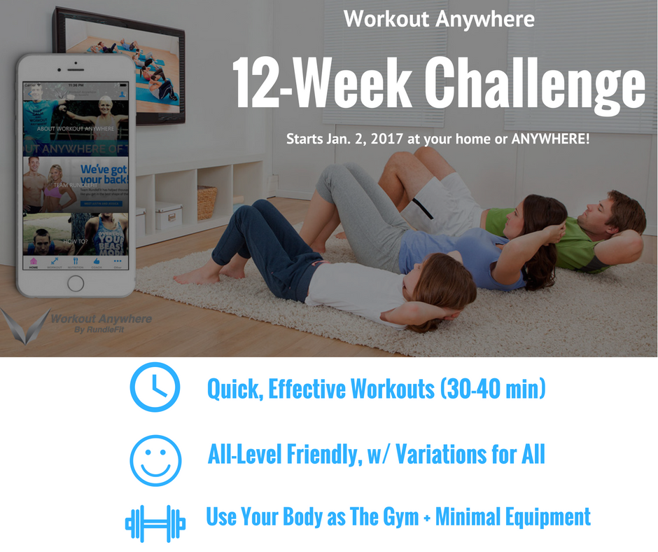 12 Week Challenge - Workout Anywhere
