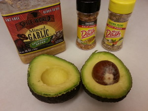 Avocado Delight Dip Ingredients