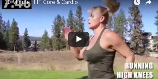 30 Minute Core & Cardio - Workout Anywhere