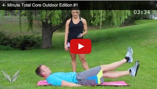 4 Minute Total Core - Workout Anywhere