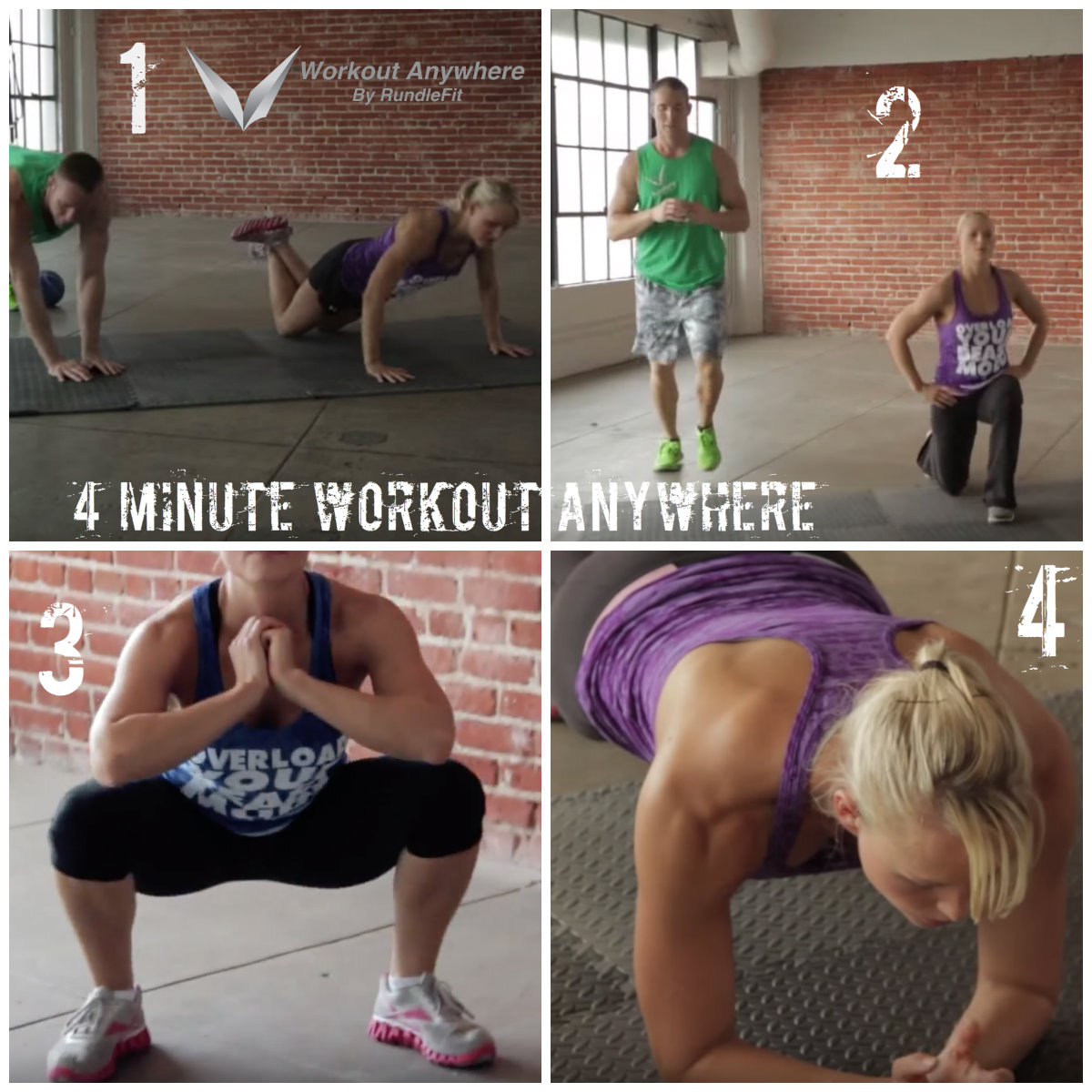 4 Minute Workout Anywhere