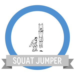 Squat Jump Fit Challenge - Workout Anywhere