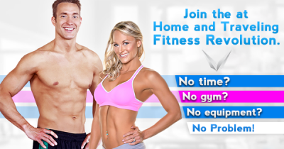 Workout Anywhere's 12 Week Trainers Work For Home, Travel or Anywhere!