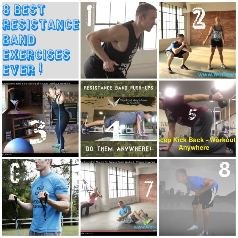 8 Best Resistance Band Exercises