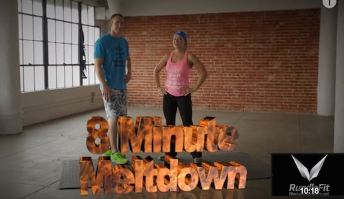 8 Minute Meltdown - 8 Minute Workout Anywhere