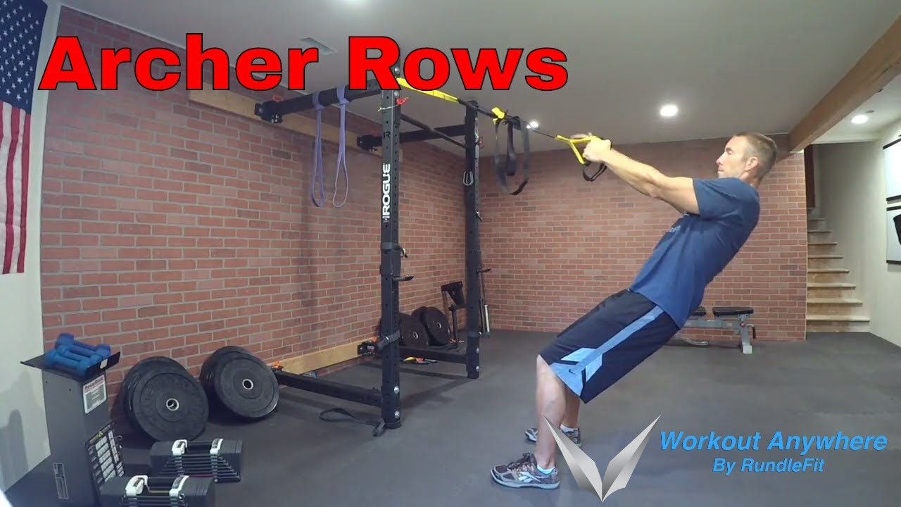 Archer Rows (Bodyweight Back Row)