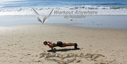 Beach Tricep Push Ups - Workout Anywhere