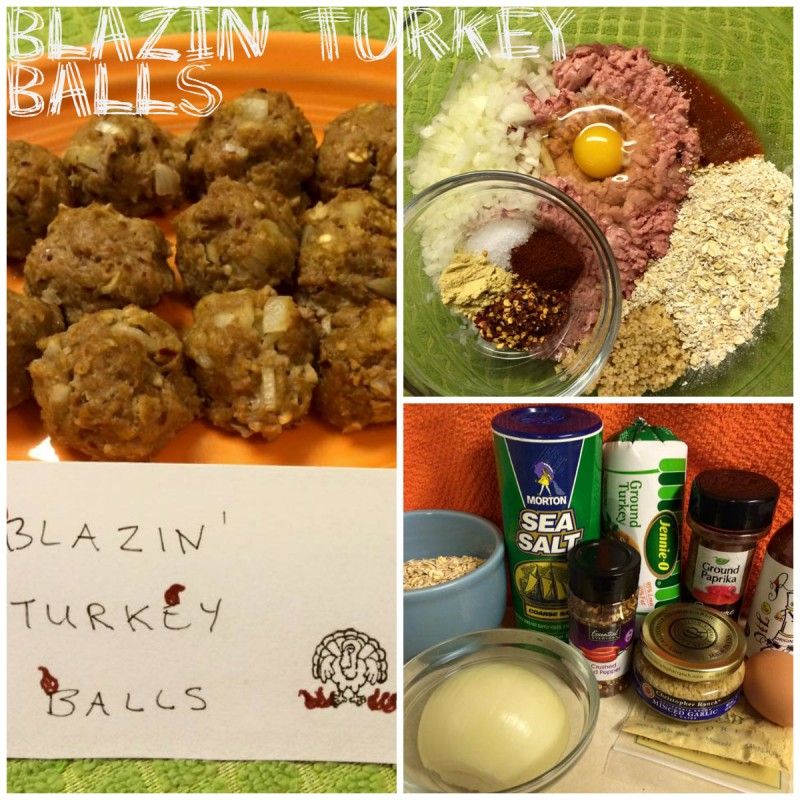 Blazin Turkey Balls - Workout Anywhere