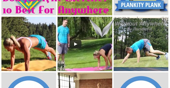 Bodyweight Exercises - 10 Best For Anywhere