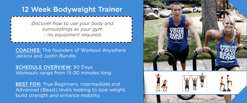 Workout Anywhere 12 Week Bodyweight Trainer